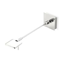 Contemporary wall light / aluminum / LED / swing-arm