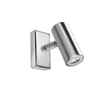 Contemporary wall light / steel / LED / tubular