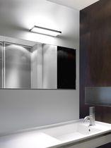 Contemporary wall light / bathroom / aluminum / polycarbonate