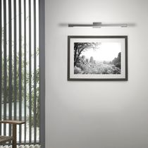 Contemporary wall light / brass / polycarbonate / LED