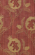 Upholstery fabric / floral pattern / cotton / silk