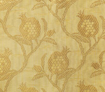 Upholstery fabric / floral pattern / silk / viscose