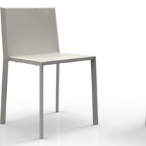 Contemporary chair / stackable / polypropylene / contract