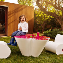 Original design table / polyethylene / garden / child's