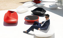 Original design armchair / polyethylene / 100% recyclable / by Ora-Ïto