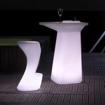 Bar stool / original design / polyethylene / garden