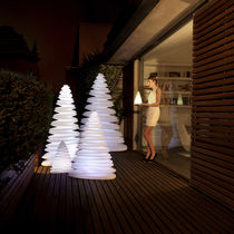 Floor-standing lamp / original design / polyethylene / outdoor