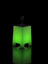 Floor-standing lamp / original design / thermoplastic / outdoor