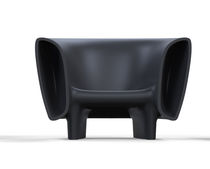 Original design armchair / polyethylene / illuminated / 100% recyclable