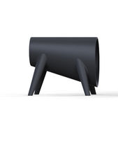 Original design stool / polyethylene / 100% recyclable / garden