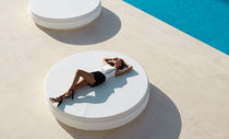 Contemporary daybed / polyethylene / outdoor / modular
