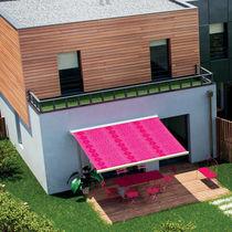 Box awning / folding-arm / manual / patio