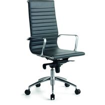 Contemporary executive chair / mesh / steel / on casters