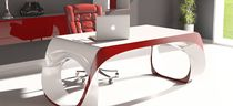 Solid Surface desk / contemporary / commercial
