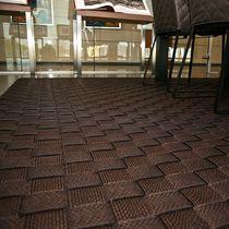 Contemporary rug / plain / cotton / rectangular
