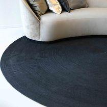 Contemporary rug / plain / cotton / felt