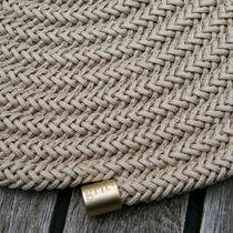 Contemporary rug / plain / polyester / rectangular
