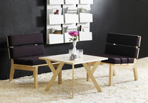 Standard fireside chair / contemporary / birch / oak