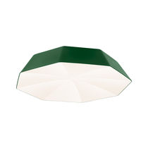 Contemporary ceiling light / acrylic / LED / dimmable