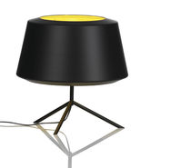 Table lamp / contemporary / painted aluminum / halogen