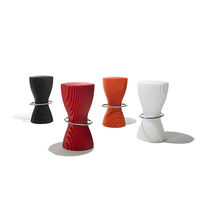 Plastic bar stool / commercial / contemporary