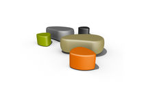 Contemporary pouf / plastic / for professional use