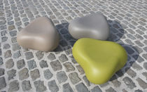 Contemporary pouf / plastic / for public areas / by Karim Rashid