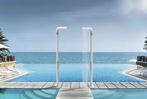 Pool outdoor shower / PE