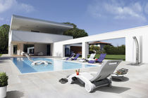 Contemporary sun lounger / garden / pool / patio