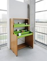 Standard shelving / multimedia / metal