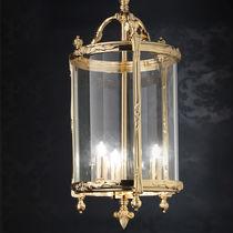 Pendant lamp / classic / brass / incandescent