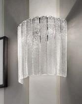 Contemporary wall light / glass / incandescent / handmade