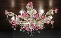 Classic ceiling light / metal / ceramic / incandescent