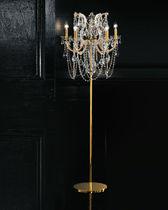 Floor-standing lamp / classic / metal / incandescent