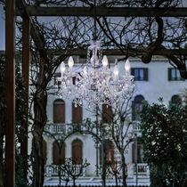 Classic chandelier / crystal / methacrylate / halogen