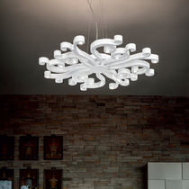 Original design chandelier / metal / LED