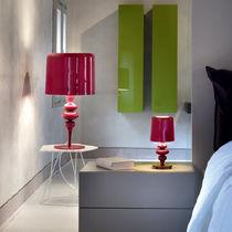 Table lamp / contemporary / aluminum / resin