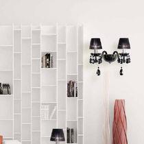 Classic wall light / glass / incandescent