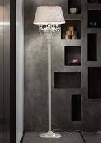 Floor-standing lamp / classic / crystal / metal