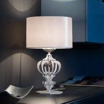 Table lamp / classic / glass / metal