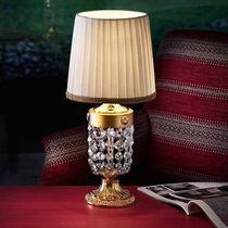Table lamp / classic / crystal / metal