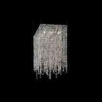 Pendant lamp / classic / crystal / incandescent