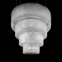 Traditional chandelier / Venetian glass / incandescent