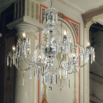 Classic chandelier / crystal / Murano glass / incandescent