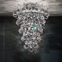 Classic ceiling light / crystal / incandescent
