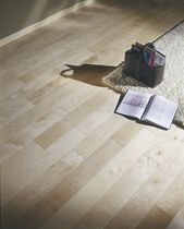Engineered parquet flooring / maple / natural oil