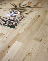 Engineered parquet flooring / floating / maple / natural oil