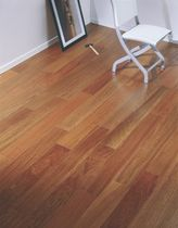 Engineered parquet flooring / floating / jatoba / natural oil