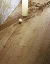 Engineered parquet flooring / floating / wild cherry / natural oil