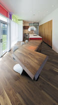 Engineered parquet flooring / American walnut / matte